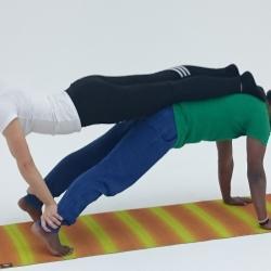 Парная йога, парная йога в Москве, йога в Москве, йога с Азизом, йогасутра